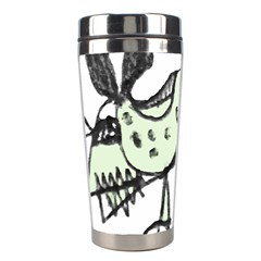 Monster Rat Pencil Drawing Illustration Stainless Steel Travel Tumblers