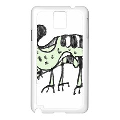 Monster Rat Pencil Drawing Illustration Samsung Galaxy Note 3 N9005 Case (white)
