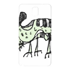 Monster Rat Pencil Drawing Illustration Samsung Galaxy Note 3 N9005 Hardshell Back Case