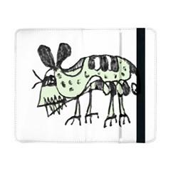 Monster Rat Pencil Drawing Illustration Samsung Galaxy Tab Pro 8 4  Flip Case
