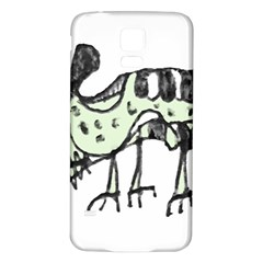 Monster Rat Pencil Drawing Illustration Samsung Galaxy S5 Back Case (white)