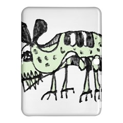Monster Rat Pencil Drawing Illustration Samsung Galaxy Tab 4 (10 1 ) Hardshell Case