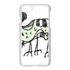 Monster Rat Pencil Drawing Illustration Apple Iphone 8 Seamless Case (white)
