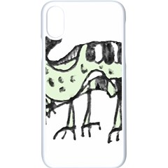 Monster Rat Pencil Drawing Illustration Apple Iphone X Seamless Case (white)