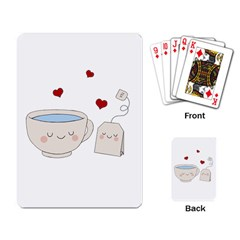 Cute Tea Playing Card