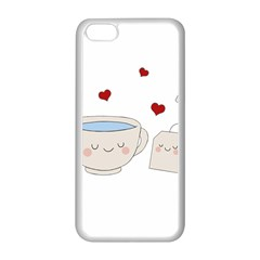 Cute Tea Apple Iphone 5c Seamless Case (white)