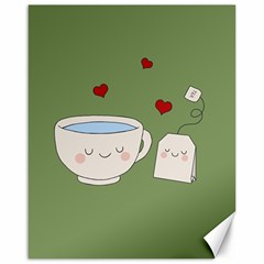 Cute Tea Canvas 16  X 20