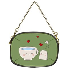 Cute Tea Chain Purses (one Side)