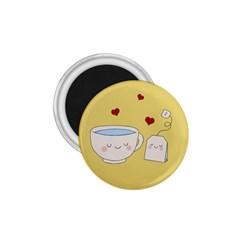 Cute Tea 1 75  Magnets