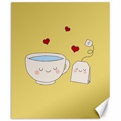 Cute Tea Canvas 20  X 24