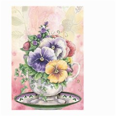 Lowers Pansy Small Garden Flag (two Sides)