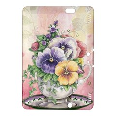 Lowers Pansy Kindle Fire Hdx 8 9  Hardshell Case