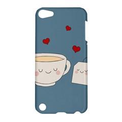 Cute Tea Apple Ipod Touch 5 Hardshell Case