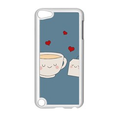 Cute Tea Apple Ipod Touch 5 Case (white)