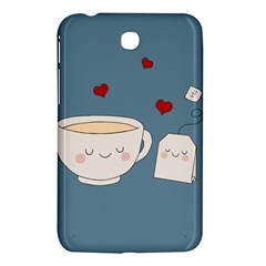 Cute Tea Samsung Galaxy Tab 3 (7 ) P3200 Hardshell Case