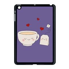 Cute Tea Apple Ipad Mini Case (black)