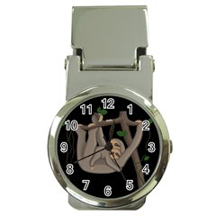Cute Sloth Money Clip Watches