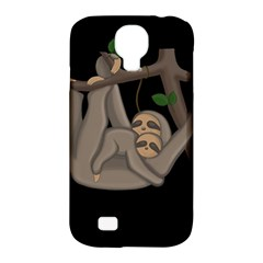 Cute Sloth Samsung Galaxy S4 Classic Hardshell Case (pc+silicone)