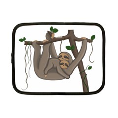 Cute Sloth Netbook Case (small)