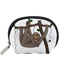 Cute Sloth Accessory Pouches (small)
