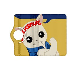 Feminist Cat Kindle Fire Hd (2013) Flip 360 Case