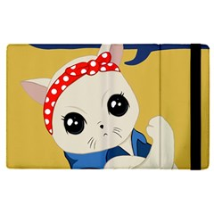 Feminist Cat Apple Ipad Pro 9 7   Flip Case