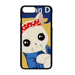 Feminist Cat Apple Iphone 7 Plus Seamless Case (black)