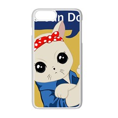 Feminist Cat Apple Iphone 7 Plus Seamless Case (white)