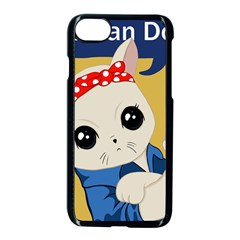 Feminist Cat Apple Iphone 7 Seamless Case (black)