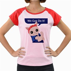 Feminist Cat Women s Cap Sleeve T Shirt