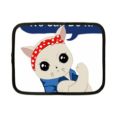 Feminist Cat Netbook Case (small)