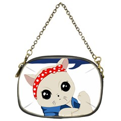 Feminist Cat Chain Purses (one Side)