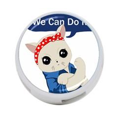 Feminist Cat 4 Port Usb Hub (one Side)
