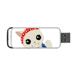 Feminist Cat Portable Usb Flash (two Sides)