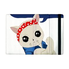 Feminist Cat Apple Ipad Mini Flip Case