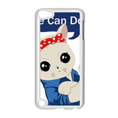 Feminist Cat Apple Ipod Touch 5 Case (white)