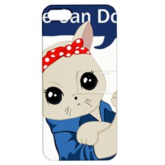 Feminist Cat Apple Iphone 5 Hardshell Case With Stand