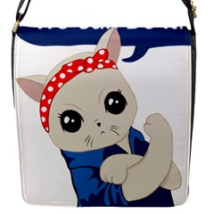 Feminist Cat Flap Messenger Bag (s)