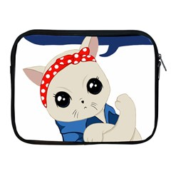 Feminist Cat Apple Ipad 2/3/4 Zipper Cases
