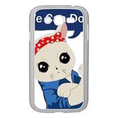 Feminist Cat Samsung Galaxy Grand Duos I9082 Case (white)