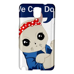 Feminist Cat Samsung Galaxy Note 3 N9005 Hardshell Case