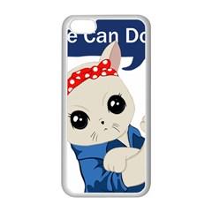 Feminist Cat Apple Iphone 5c Seamless Case (white)