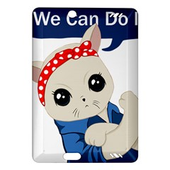 Feminist Cat Amazon Kindle Fire Hd (2013) Hardshell Case
