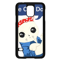 Feminist Cat Samsung Galaxy S5 Case (black)