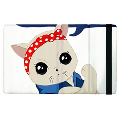 Feminist Cat Apple Ipad Pro 12 9   Flip Case