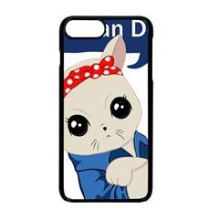 Feminist Cat Apple Iphone 7 Plus Seamless Case (black)
