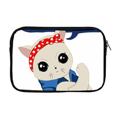 Feminist Cat Apple Macbook Pro 17  Zipper Case