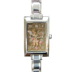 Cupid   Vintage Rectangle Italian Charm Watch
