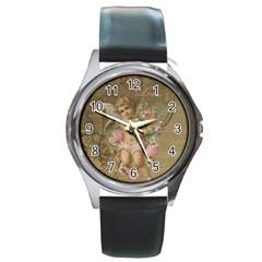 Cupid   Vintage Round Metal Watch