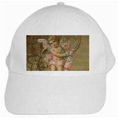 Cupid   Vintage White Cap